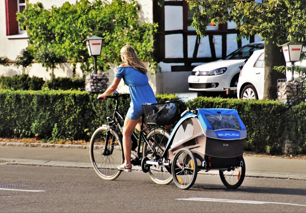 remolques para bicicleta